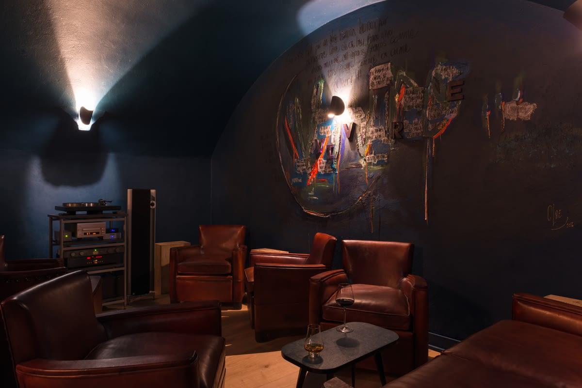 """Restaurant Vivre - Espace \""""En bas\"""" - Lounge"""