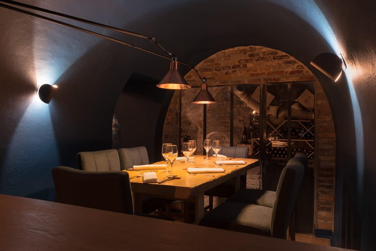 """Restaurant Vivre - Espace \""""En bas\"""" - La Chêne"""