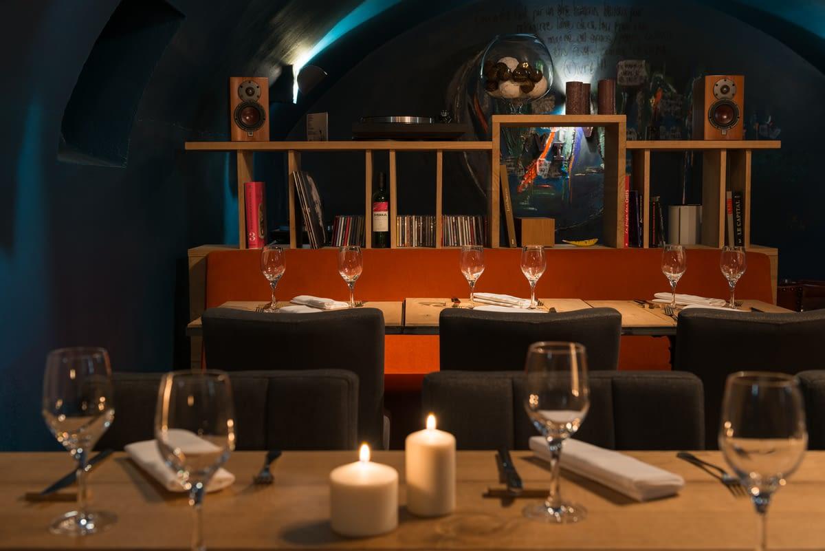 """Restaurant Vivre - Espace \""""En bas\"""""""