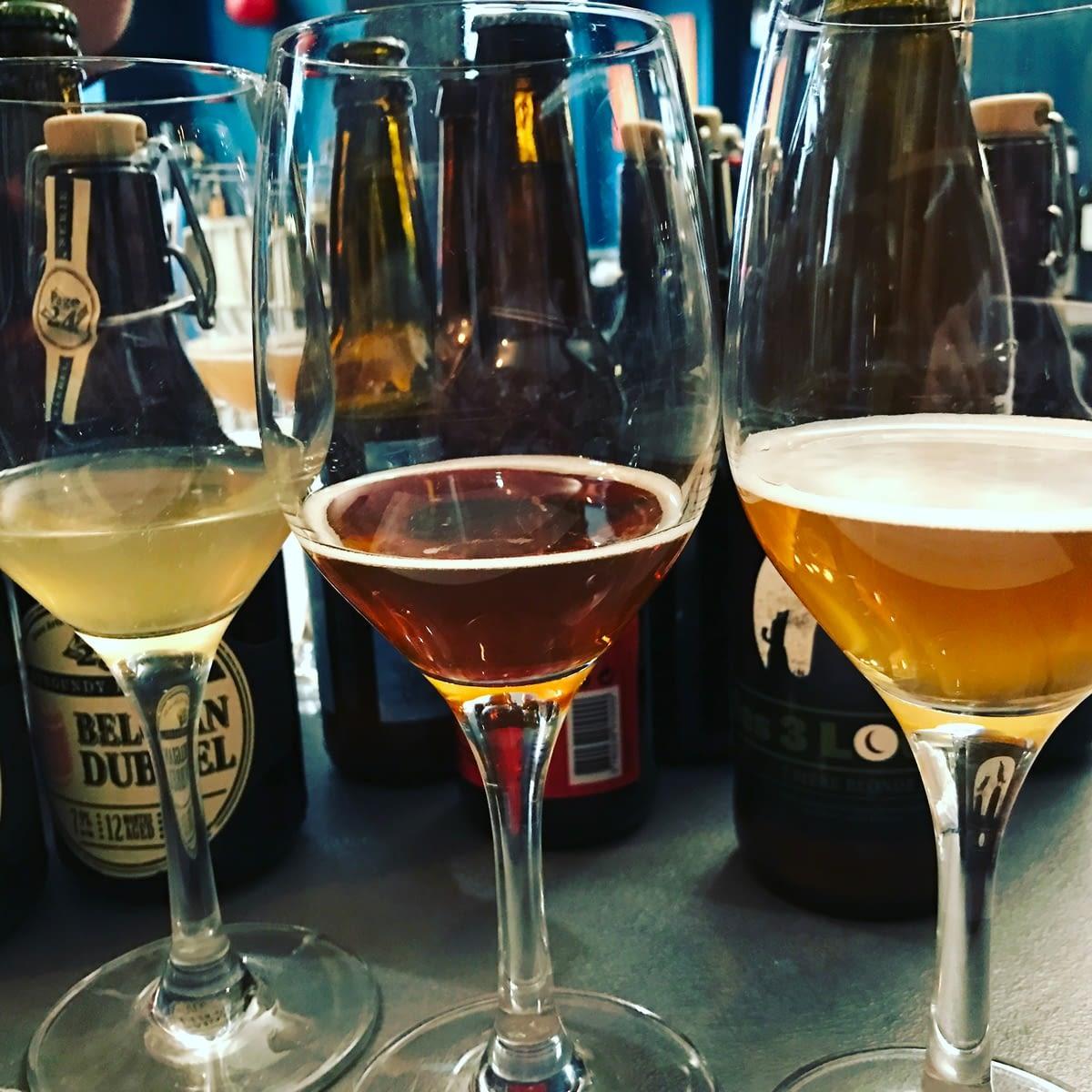 Les Bières artisanales sélectionnées par Elisabeth Pierre spécialement pour nous