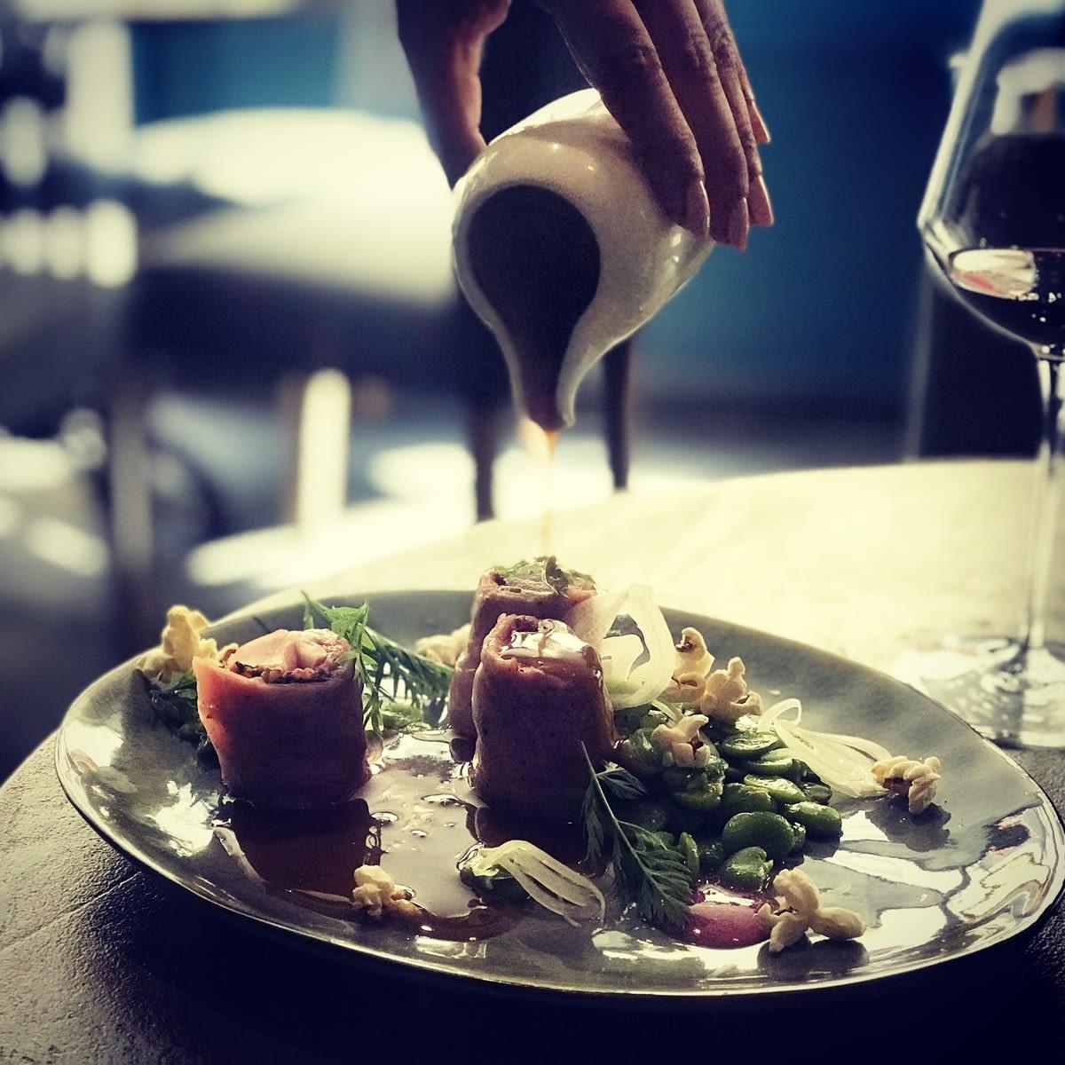02 - Restaurant Vivre - plat - 3 rue de la Michodière 75002 Paris