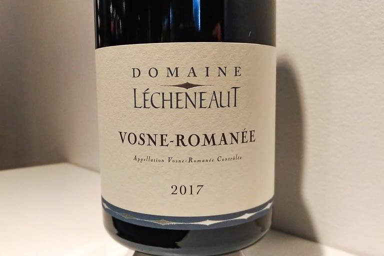 Vosne-Romanée 2017 Domaine Lécheneaut.jpg