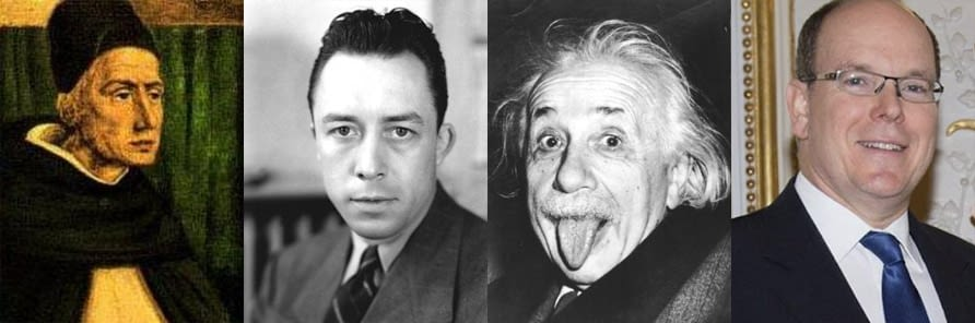 Maître Albert… Camus ? Einstein ?  De Monaco ?
